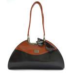 Černá luxusní kabelka na rameno Sofien