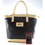 Černo zlatá kabelka Milen