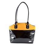 Černo zlatá kabelka Romina