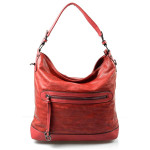 červená bordó kabelka na rameno Lilien