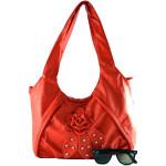 Červená kabelka Beauty