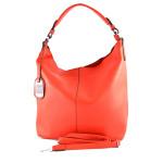 Červená kabelka do ruky i na rameno Redin