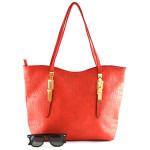 Červená kabelka Felasi