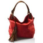 červená kabelka na rameno levis