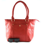 Červená kabelka Ricoleta
