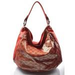 červená moderní kabelka na rameno Abril