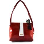 Červená značková kabelka Misteri