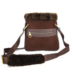 Crossbody Winter hnědé