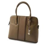 Elegantní béžová kabelka do ruky Mystic