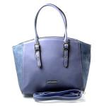Elegantní bledě modrá kabelka Selena