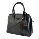 Elegantní černá kabelka do ruky Dania