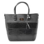 Elegantní černá kabelka do ruky Silane