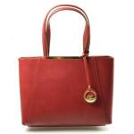 Elegantní červená bordó kabelka Limet