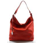 Elegantní červená kabelka na rameno beata