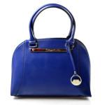Elegantní kufříková modrá kabelka do ruky Oleni
