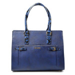 Elegantní modrá kabelka do ruky Aleta