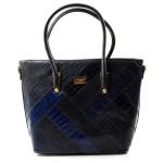 Elegantní modrá kabelka na rameno Ivet