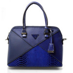 Elegantní sytě modrá kabelka do ruky Dania