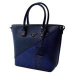 Elegantní tmavě modrá kabelka do ruky Lindsian