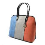 Elegantní tříbarevná kabelka do ruky Jilister