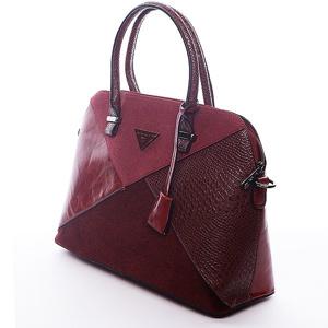Elegantní vínová kabelka do ruky Dalgerine  d0e44d266c4