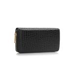 Fashion Only Croco Wallet – černá