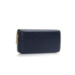 Fashion Only Croco Wallet – navy