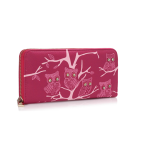 Fashion Only Owl Wallet – fuchsiová