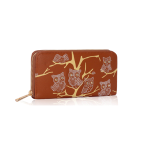 Fashion Only Owl Wallet – hnědá