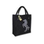 Filcová kabelka Horse Dark