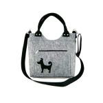 Filcová kabelka Little Dog