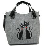 Filcová Kabelka Modern Cats In Love