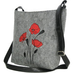 Filcová kabelka Wild Flowers Crossbody