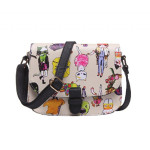 Intrigue Cat print crossbody