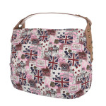 K-Fashion British Jack HOBO – růžová