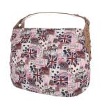 K-Fashion British Jack HOBO – růžová