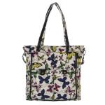 K-Fashion Butterfly Shopper – bílá
