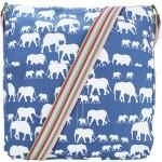 Kabelka Elephant Mania – temně modrá