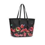 Kabelka Fashion Only Butterfly – černá
