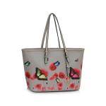 Kabelka Fashion Only Butterfly – šedá