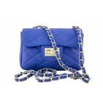 Kabelka Florence Perlita mini – modrá