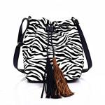 Kabelka Hobo Bag Zebra
