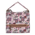 Kabelka K-Fashion British Jack HOBO II. – růžová