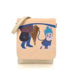 Kabelka Little Dog crossbody – béžové