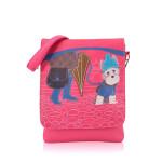 Kabelka Little Dog crossbody – růžová