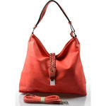 krásná červená kabelka na rameno style
