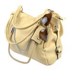 Krémová kabelka Lissa