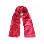 Luxusní šátek Batika Kare red