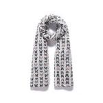 Luxusní šátek Butterfly Cream