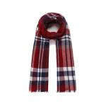 Luxusní šátek CROSS red